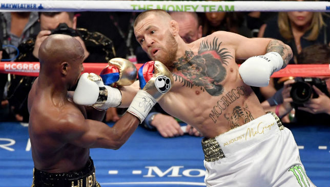 Viva Las Vegas: Conor McGregor took on Floyd Mayweather in September.