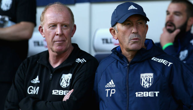 Will want to make an impression after Tony Pulis' (R) exit: Gary Megson (L)