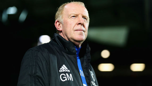 Hasn't been sacked yet: Gary Megson