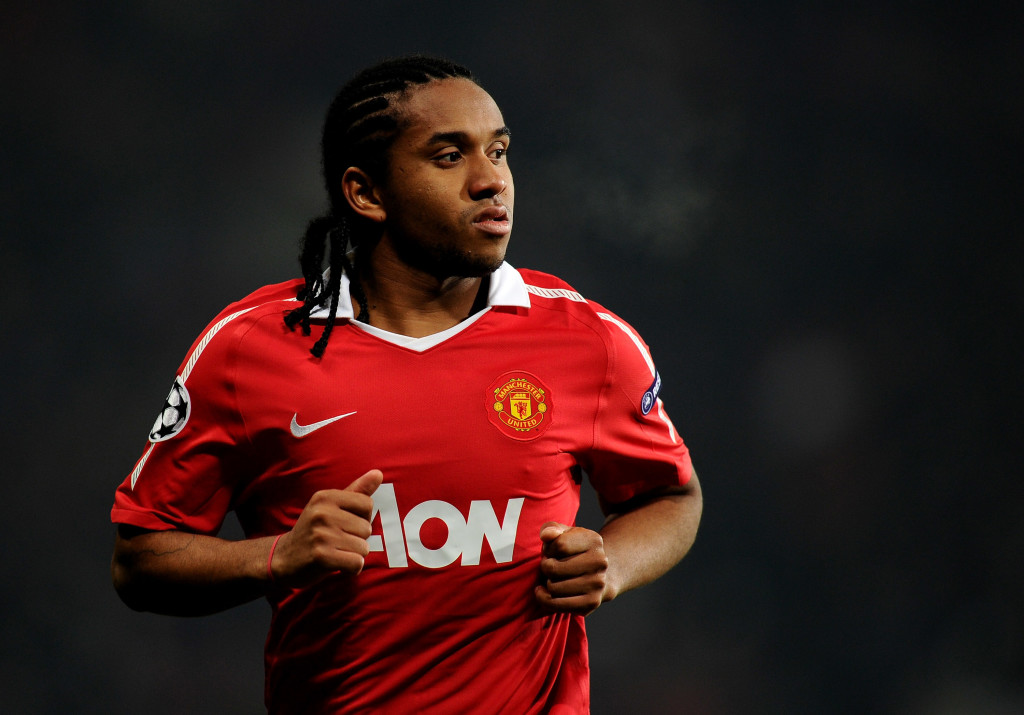 Anderson during his days with Man United