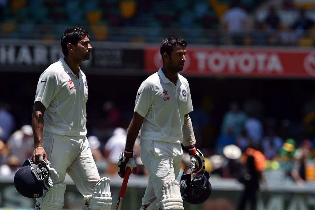 Pujara and Vijay have now put up nine century stands between themselves.