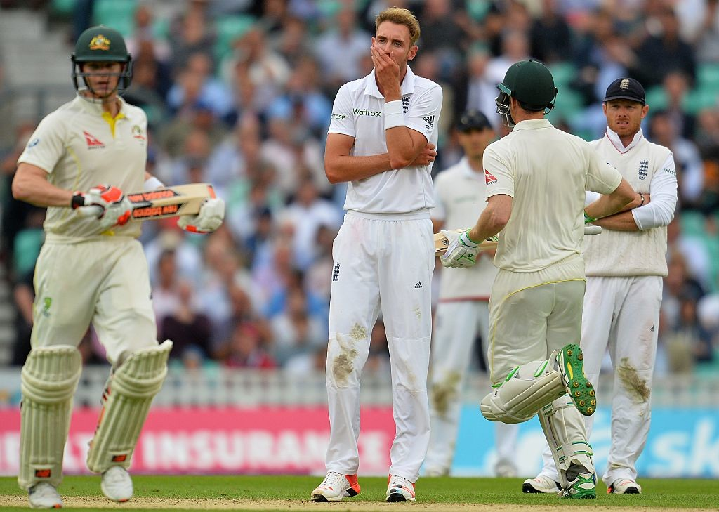 Stuart Broad had earlier said that England would be targeting Steve Smith.
