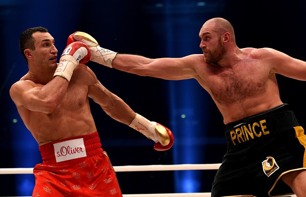 Tyson Fury had defeated Wladimir Klitschko for the world title in 2015.
