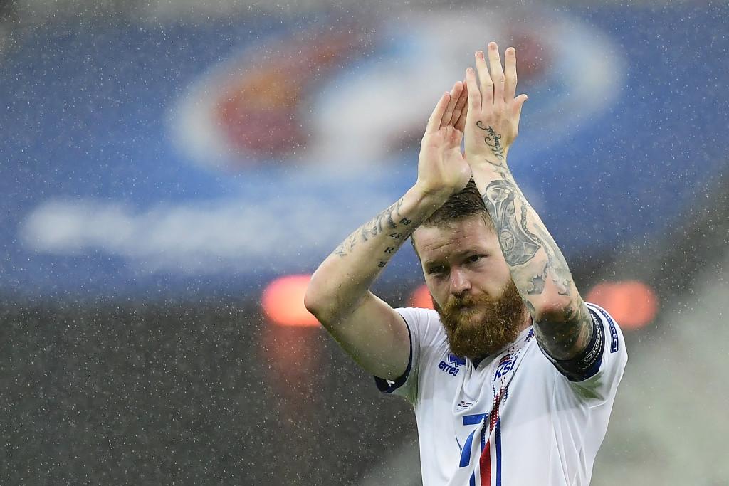Iceland's Aron Gunnarsson