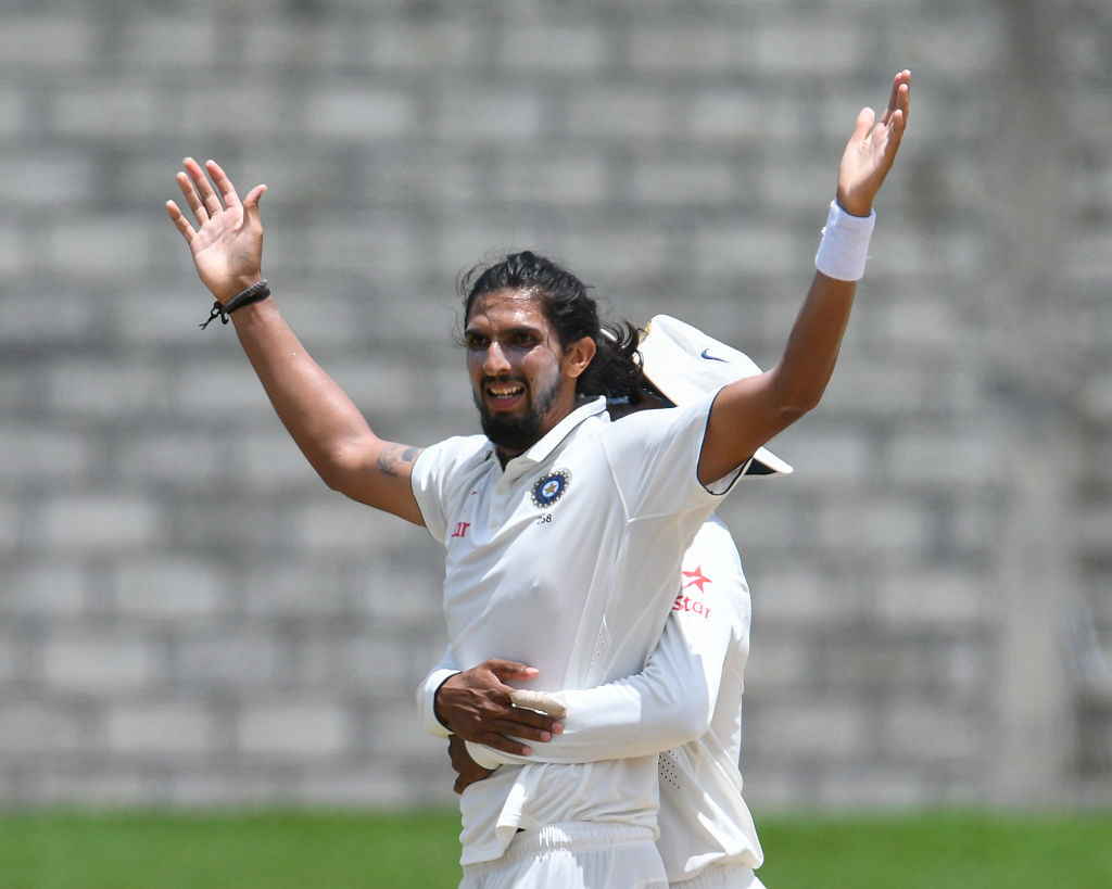 Ishant made full use of his opportunity after Bhuvenshwar's absence.