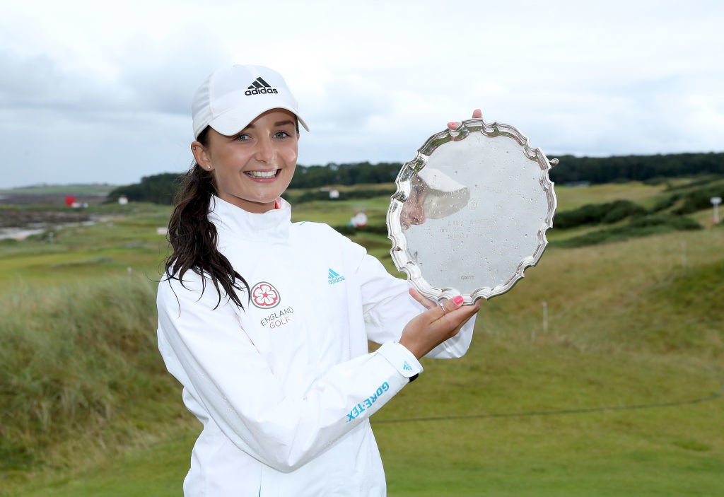 Lamb was awarded the Smyth Salver at the British Open.