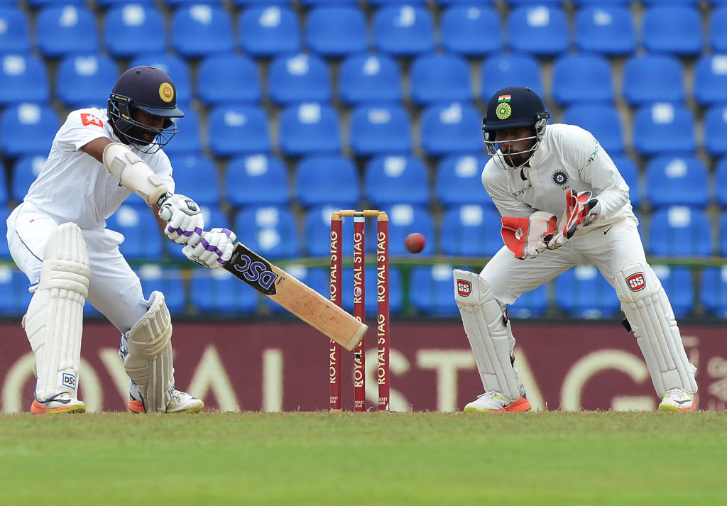Sri Lanka's batting floundered once again in Nagpur.