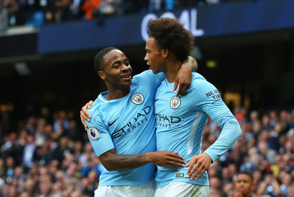 Sterling and Sane are both profiting from better full-backs