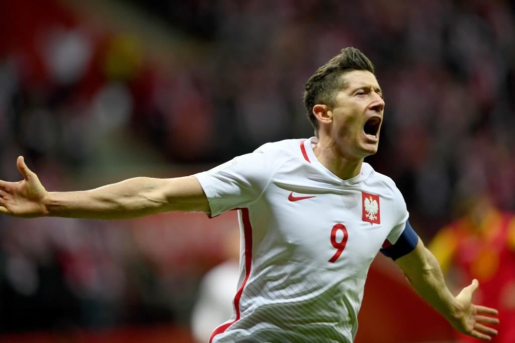 Poland's record scorer Robert Lewandowski