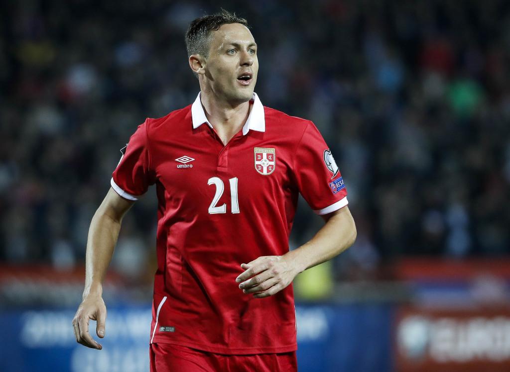 Serbia midfielder Nemanja Matic