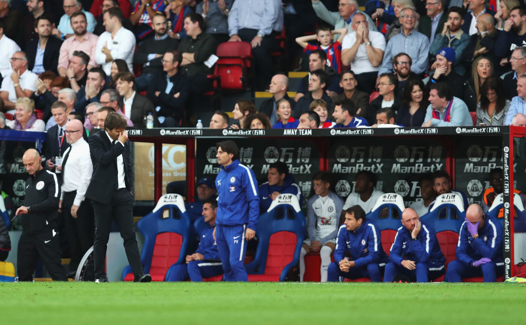 Conte will have to make full use of his bench strength in the coming days.