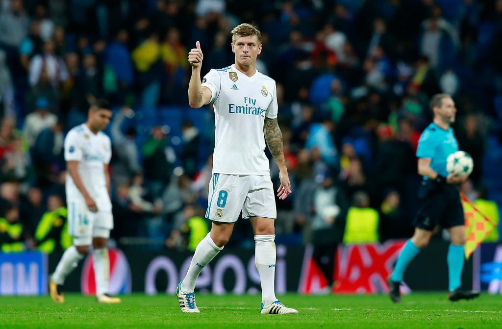 Real Madrid's midfield maestro Toni Kroos