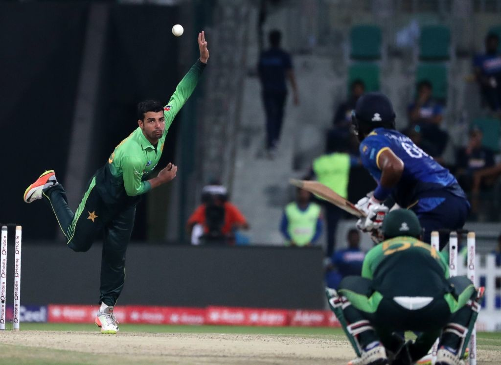 Shah will join fellow Pakistan spinner Shadab Khan at Brisbane.