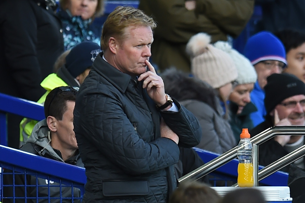 Ronald Koeman was sacked by Everton last month