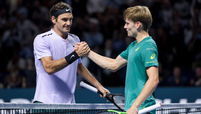 Federer to take on Goffin in semis — ATP Finals