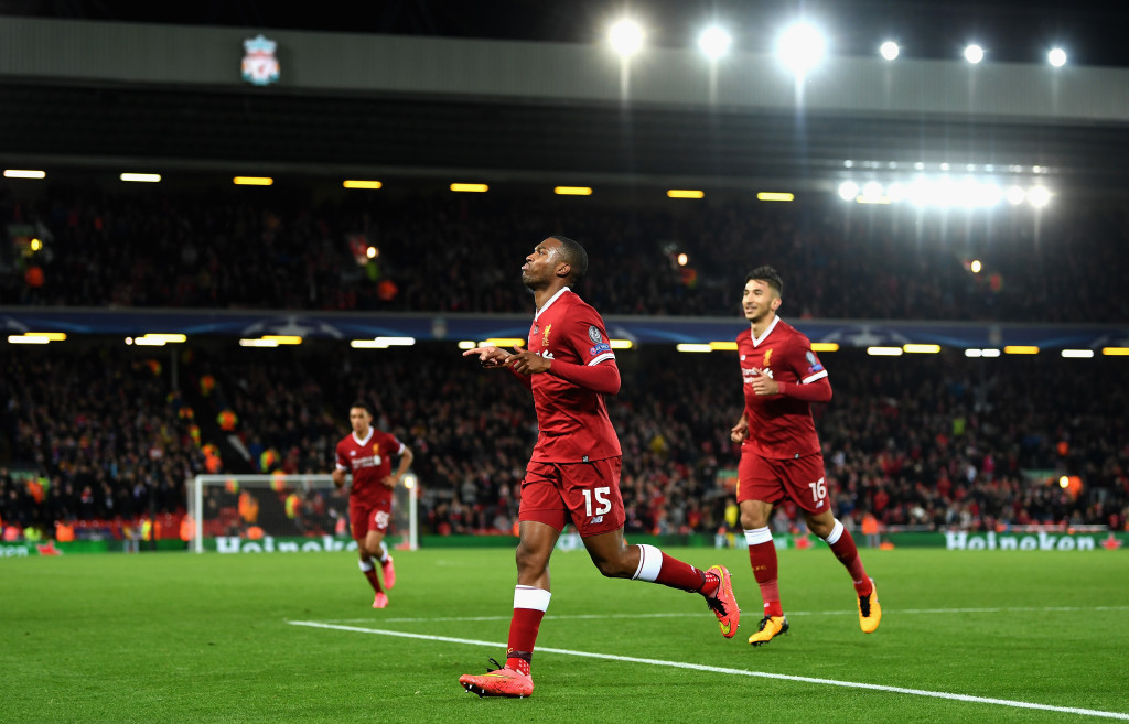 Sturridge celebrates Liverpool's third