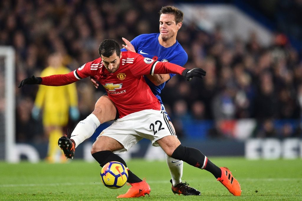 Mkhitaryan has been off the boil of late for Manchester United.