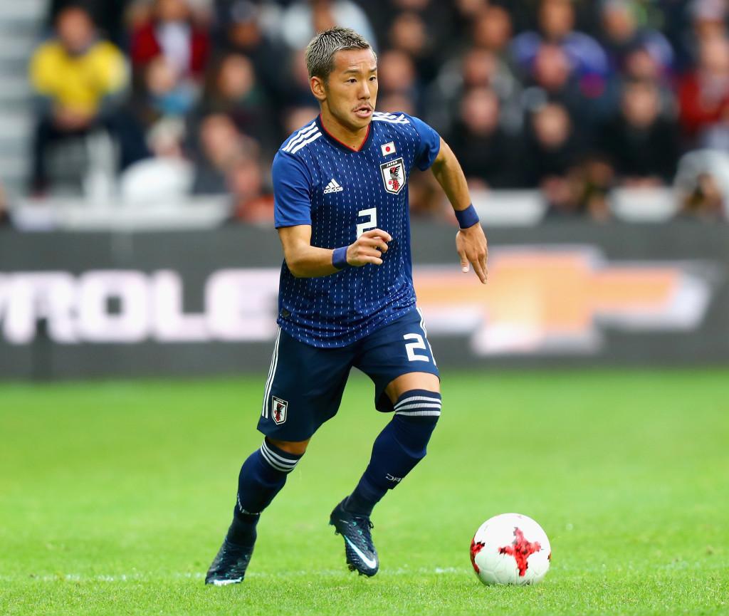 Japan's Yosuke Ideguchi