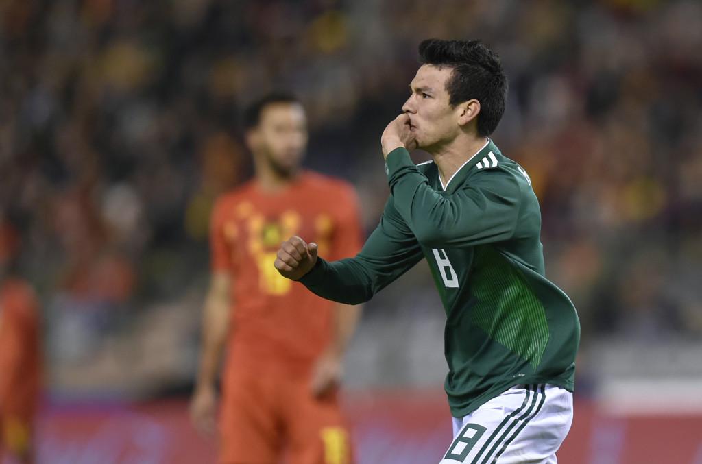 Mexico forward Hirving Lozano