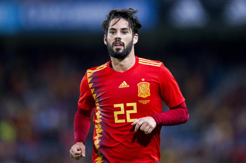 Spain midfielder Isco