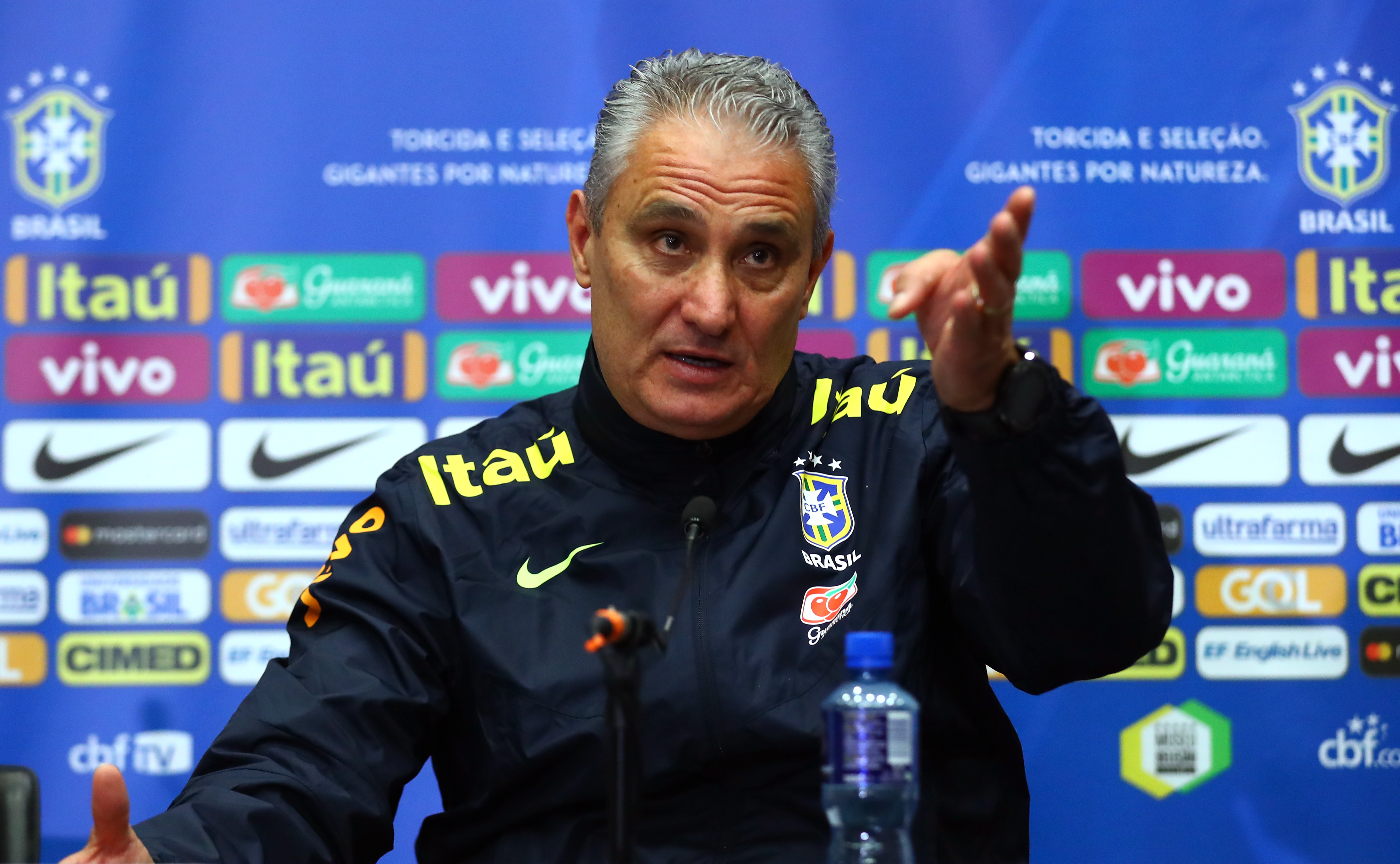 Brazil manager, Tite