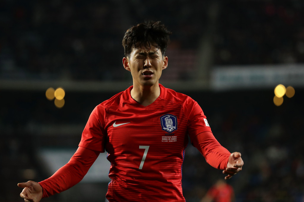 Son Heung-Min of South Korea