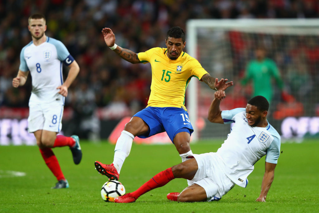Southgate was impressed by Joe Gomez's man of the match performance.
