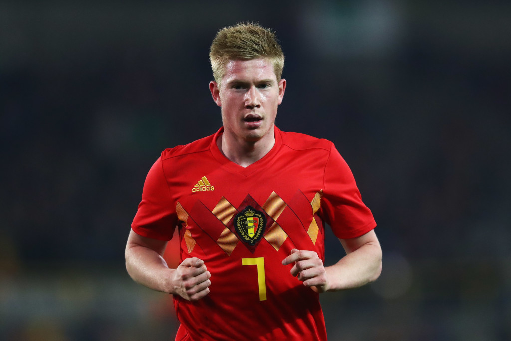 Belgium playmaker Kevin De Bruyne