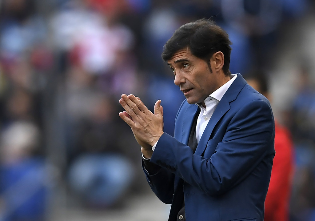 Valencia's Spanish coach Marcelino