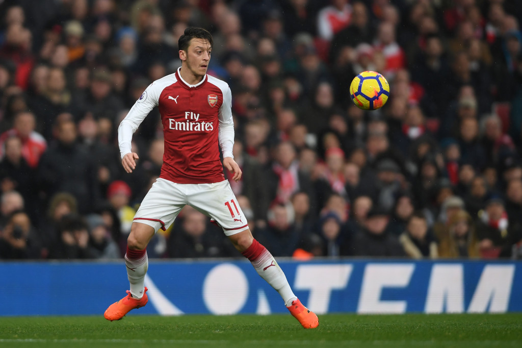 Ozil will be available on free next summer
