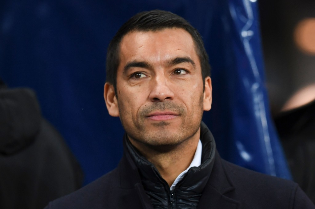 Feyenoord's Dutch head coach Giovanni Van Bronckhorst