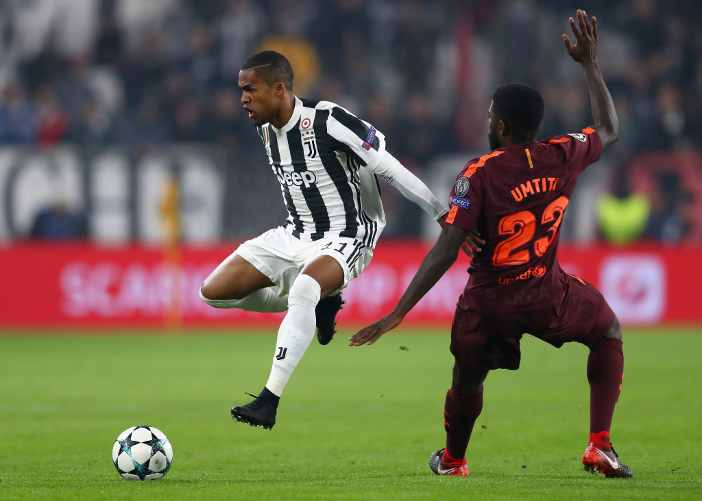 Costa was a standout for Juve on a dire night