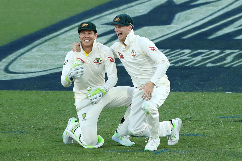 Australia had played 78 Tests since Paine's last appearance.