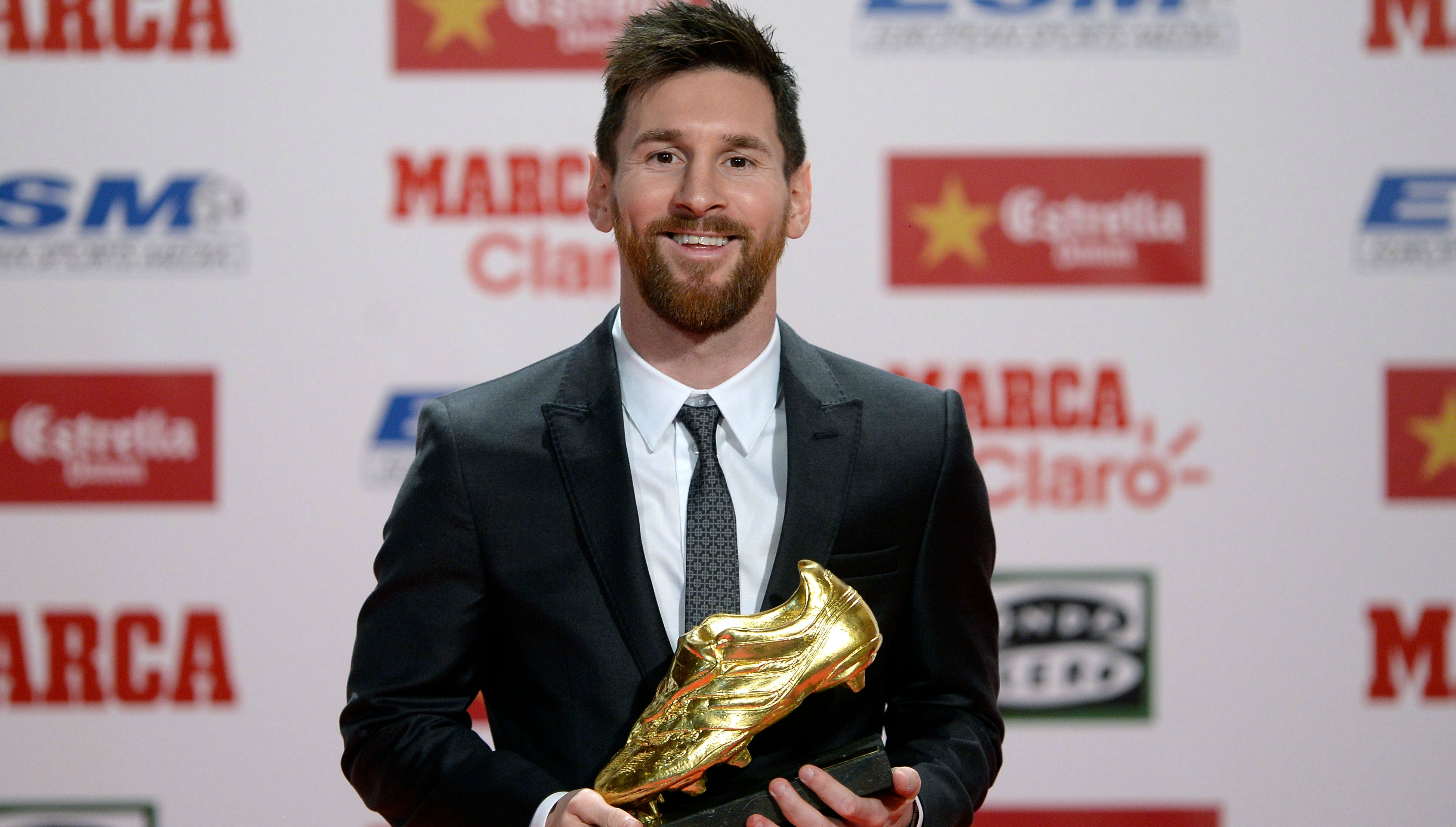 Messi Lifts CR7 Record-Equalling Golden Shoe