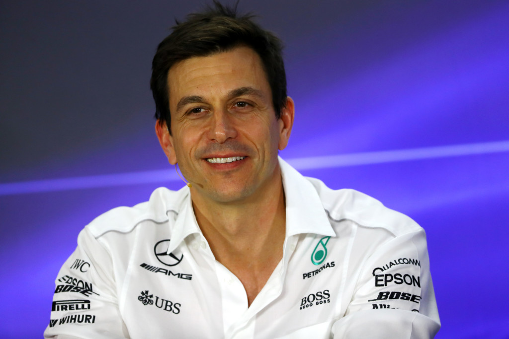 Mercedes boss: Toto Wolff.