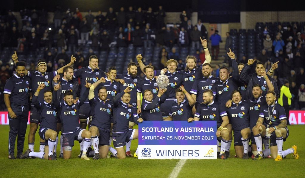 This is Scotland's second win over the Wallabies in the calendar year.