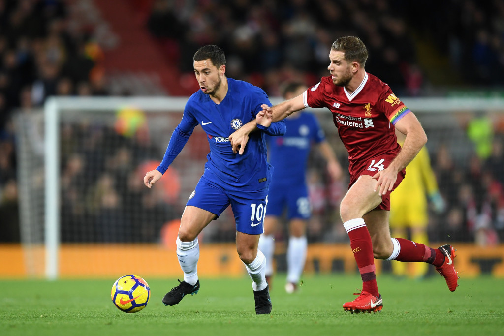 Henderson struggles to get a grip of Hazard