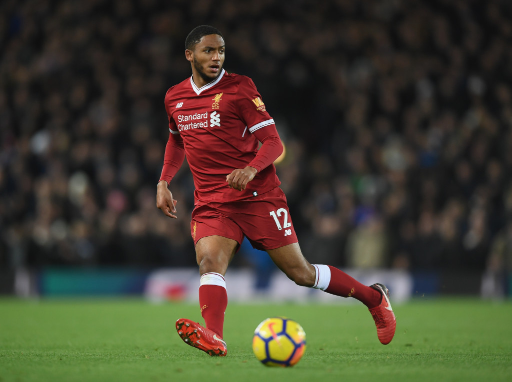 Gomez was the standout player at the back for Liverpool