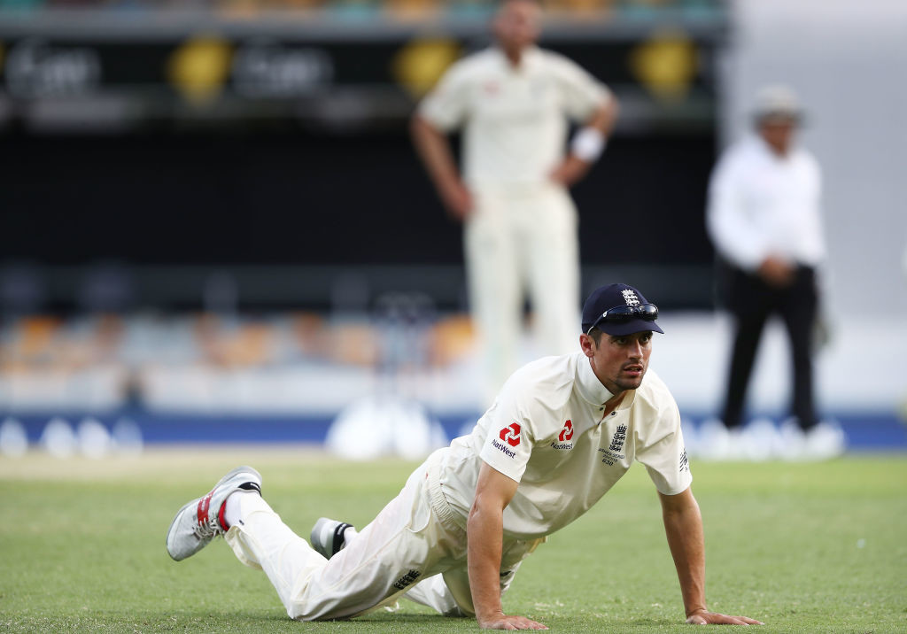 Alastair Cook had a Test to forget.