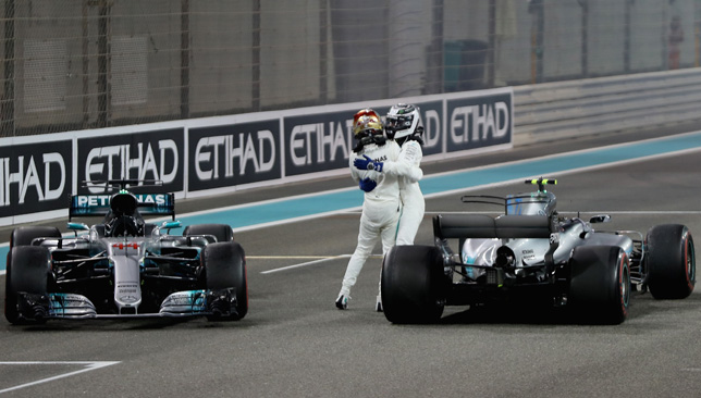 Bottas makes Hamilton settle for second in F1 finale