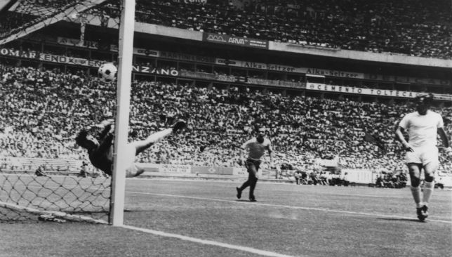 In Frame: Gordon Banks' remarkable save from a Pele header.