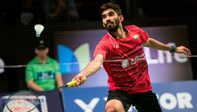 In terrific run of form: Kidambi Srikanth