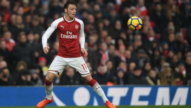 A Barcelona target: Mesut Ozil