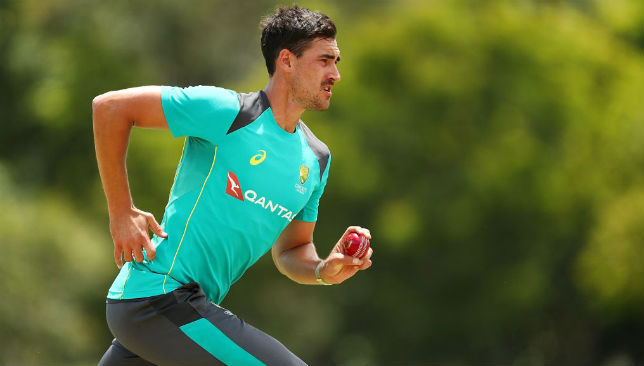 Australia's new-ball specialist Mitchell Starc
