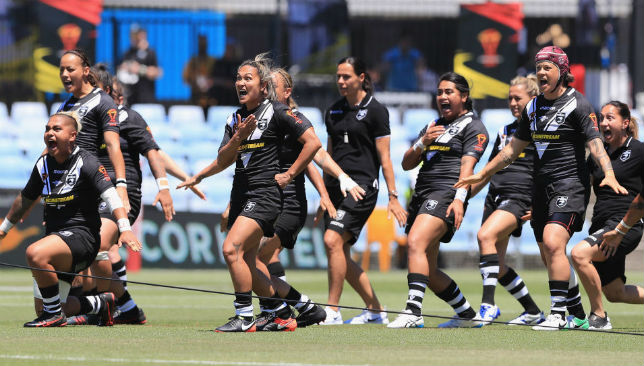 Performing the Haka: New Zealand Women's Team