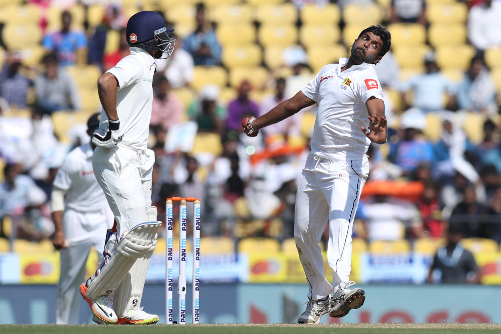 Perera went for more than 200 runs in second Test.