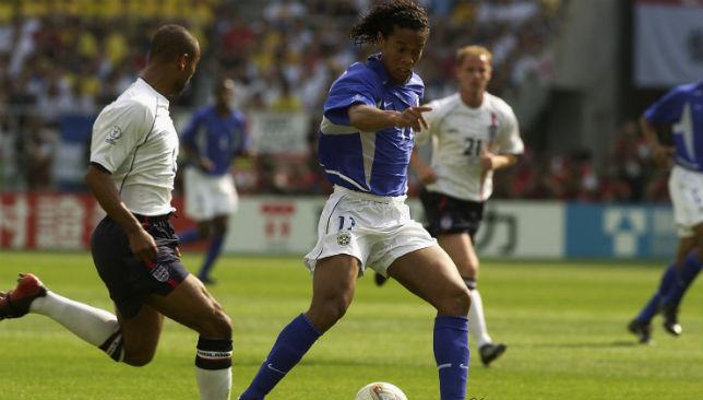Beaten by Ronaldinho's brilliance: England