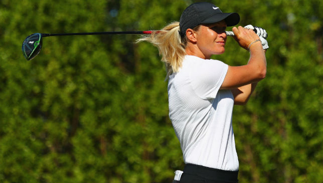 At the CME Group Tour Championship: Suzann Pettersen
