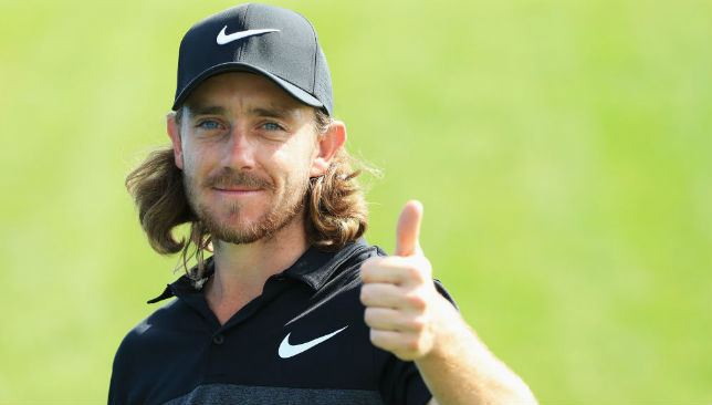 Leading the standings: Tommy Fleetwood