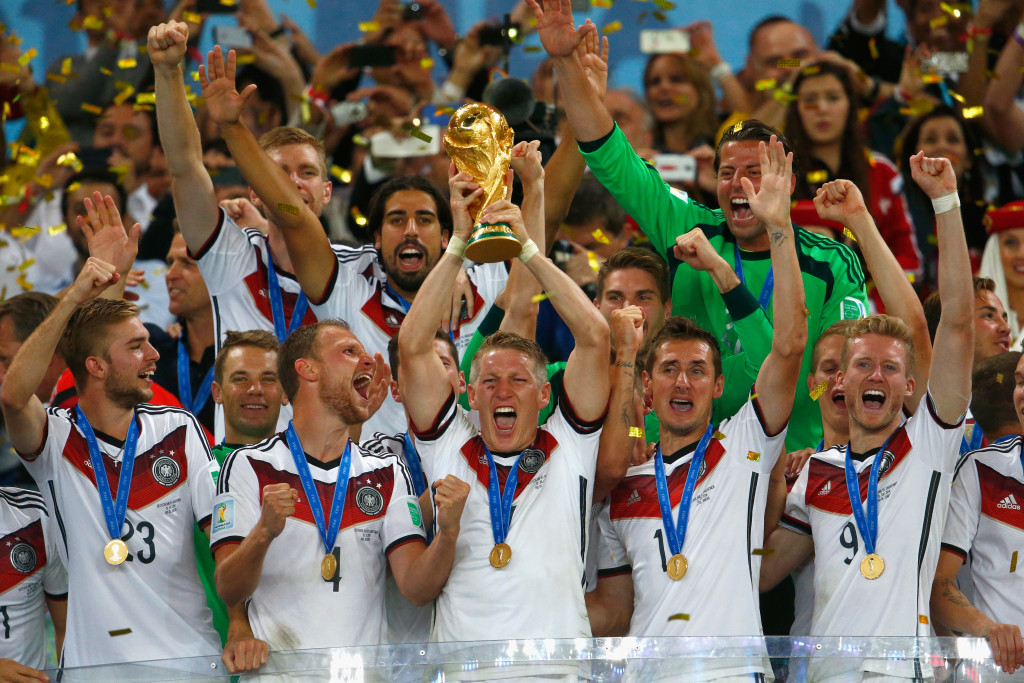 Germany won their 4th World Cup after a nervy final against Argentina in 2014.